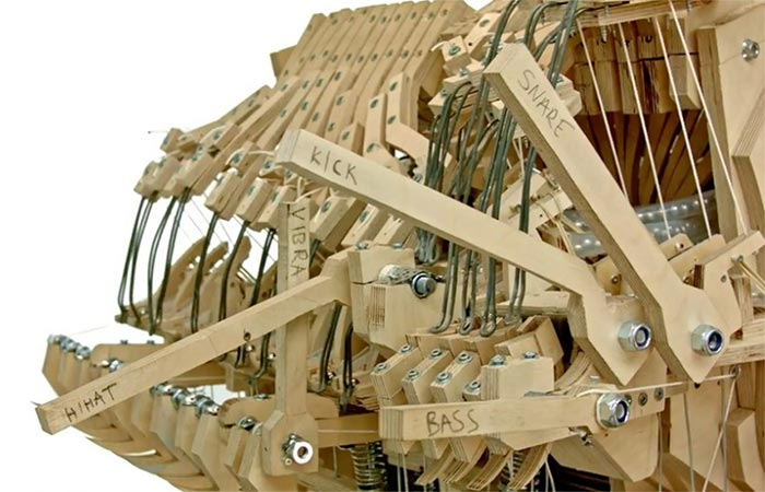 The Levers Of Music Marble Machine