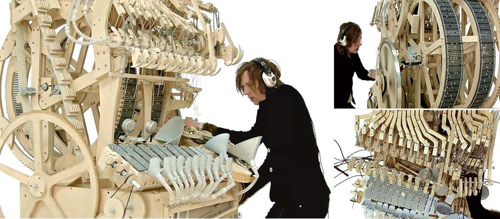 Falling Marbles Music Machine