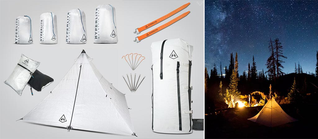 Hyperlite Packrafter's Kit For Backpackers And Hikers