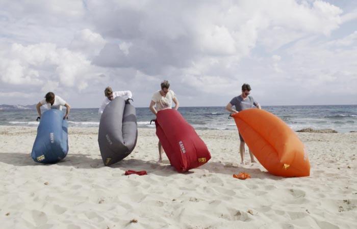 Four Guys Inflating KAISR