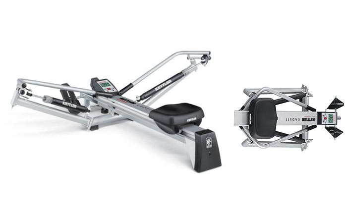 Kettler Kadett Outrigger Style Rowing Machine