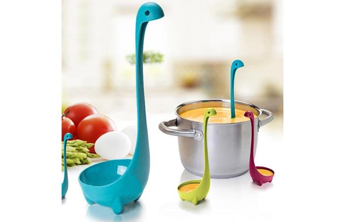 Loch Ness Monster Design Ladle