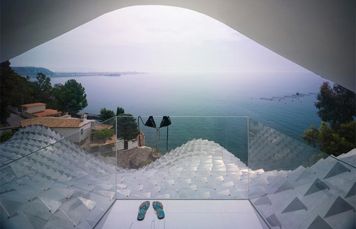 The View On The Sea From The Mediterranean Dragon House