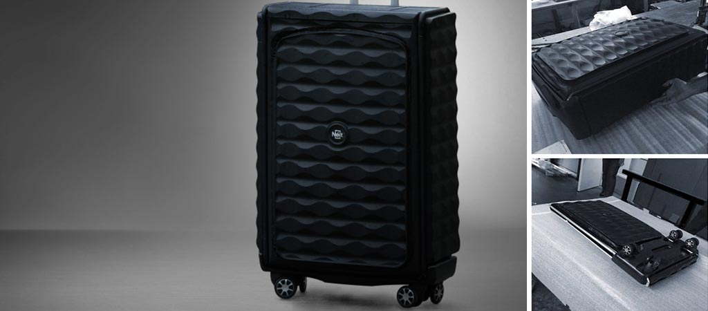 Néit | World's First Smart, Collapsible Hard Case Luggage