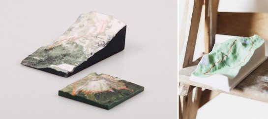Nicetrails – Custom 3D Printed Art Pieces Of Your GPS Tracks
