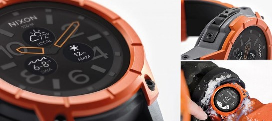 Nixon's The Mission | Android Smartwatch For Action Sports