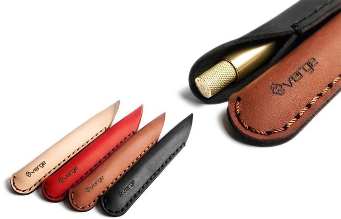 SENS Pen Leather Sleeve