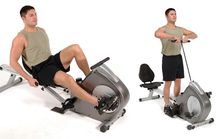 Stamina Conversion II Recumbent Rower