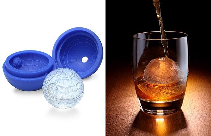 Star Wars Death Star Silicone Ice Cube Trays Ice Ball