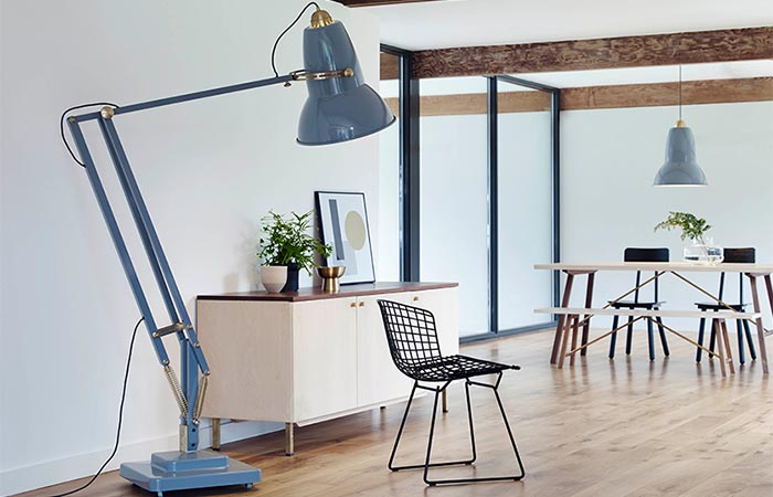 Anglepoise Original 1227 Giant Lamp Collection Brass Lamp