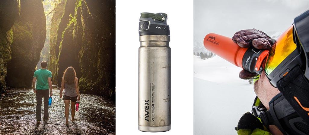 Avex Freeflow Water Bottle