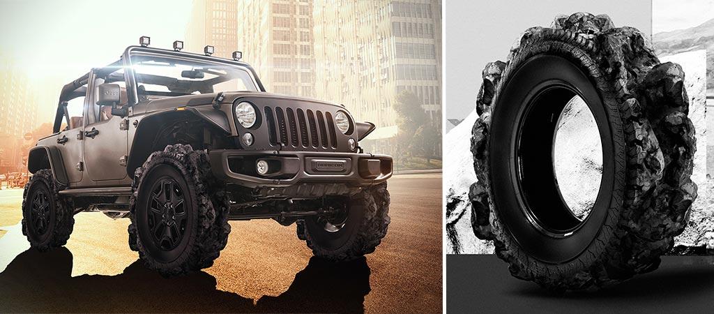 Jeep Adventure Tires