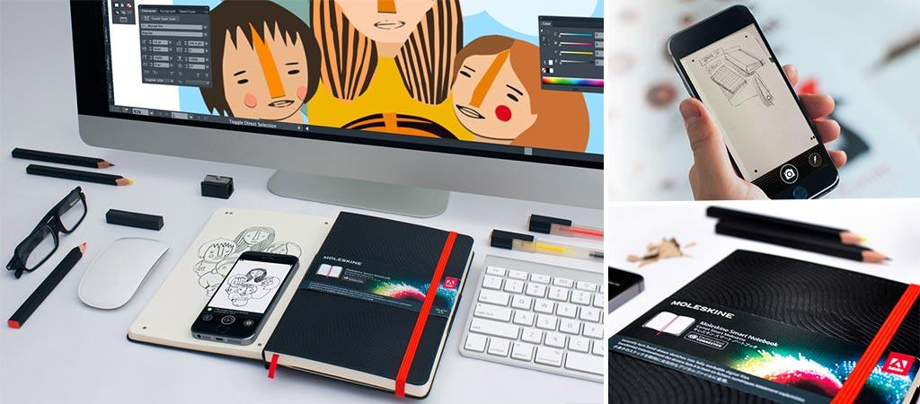 Moleskine Smart Notebook Creative Cloud Collection