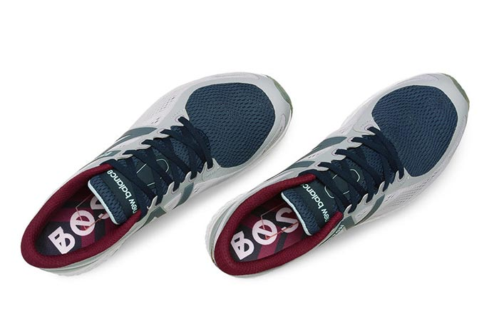 A Pair Of Fresh Foam Zante Boston Shoes