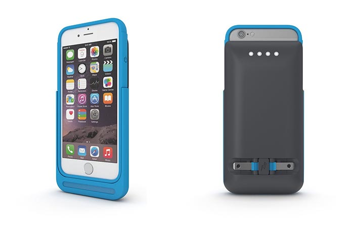 Blue Prong Power Case For iPhone