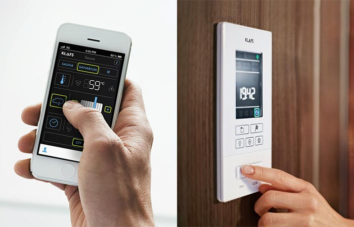 Controling Sauna S1 Via App And Control Panel