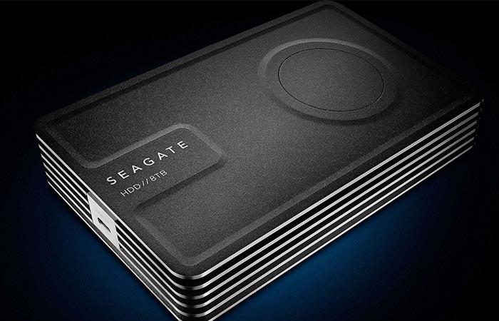 Black Seagate Innov8 8 TB Drive