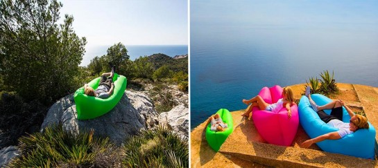 The Laybag | The Inflatable Sofa Lounger
