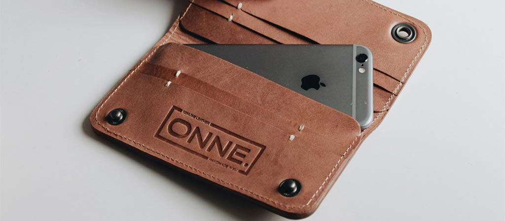 iPhone 6 Leather Wallet By ONNE