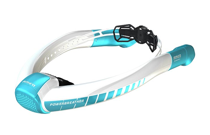 Ameo Powerbreather White And Blue