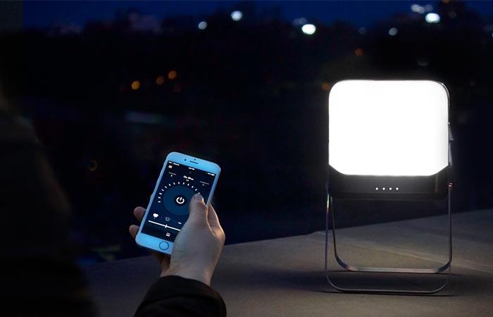 BioLite BaseLantern And A Phone App