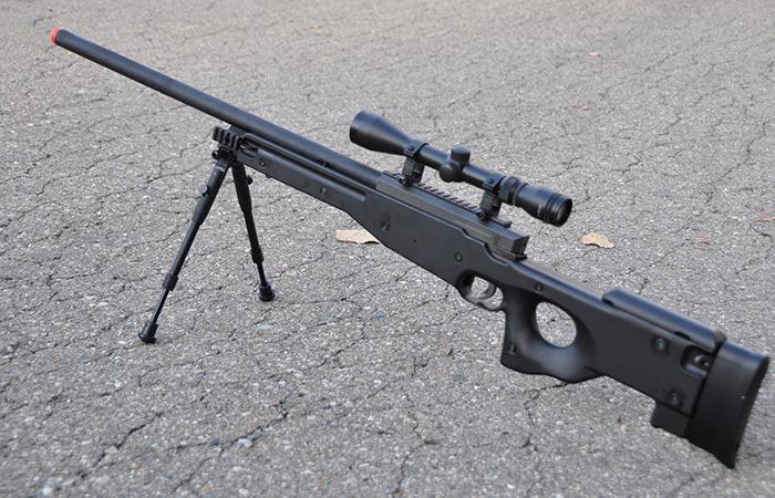 BBTac L96 Sniper Rifle on the ground