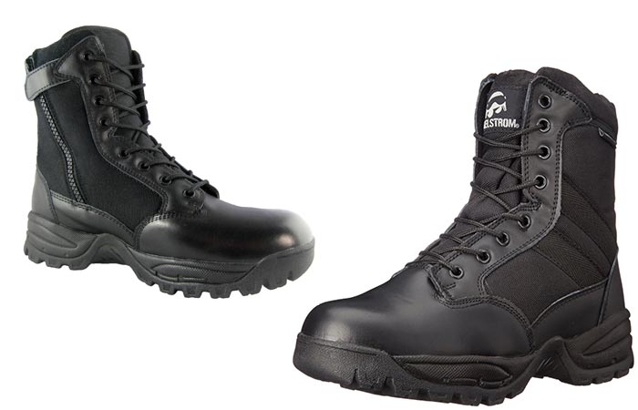 Maelstrom Landship Tactical boots on white background