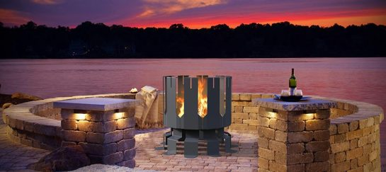 Ion Fire Pit | By Decorpro
