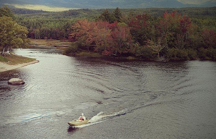 Riding MOKAI ES-Kape On A Lake