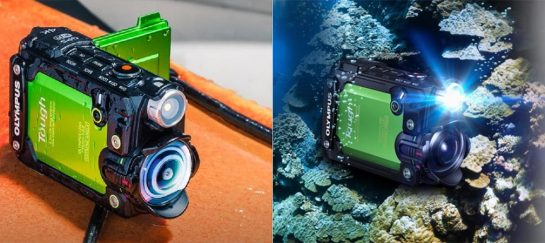 Olympus Tough TG-Tracker | A 4K Action Camera
