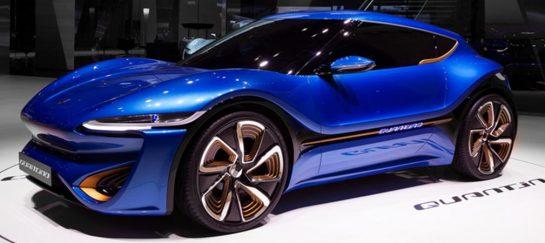Quantino | Nanoflow Cell Electric Car