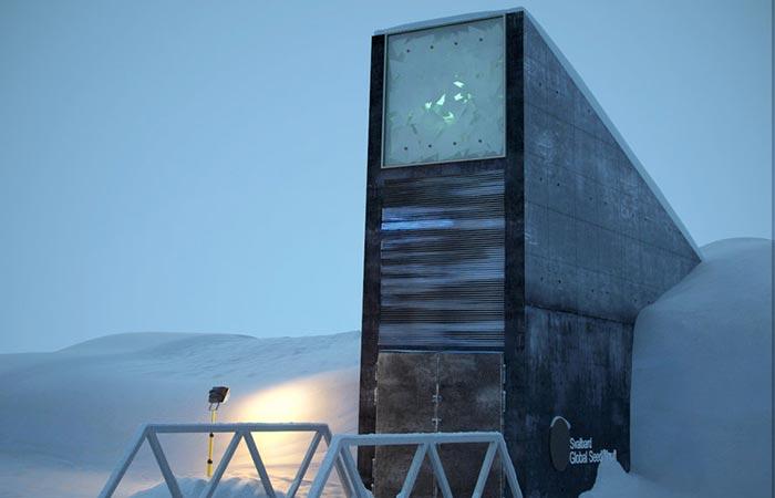 The Entrance Svalbard Global Seed Vault