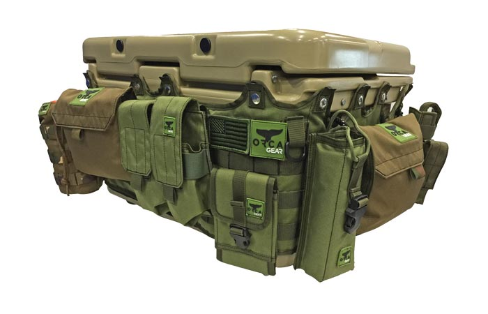 Things Attached To The Cooler Molle Wrap