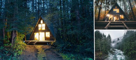 Tye Haus – A-Frame Cabin | Cottage For Rent In Skykomish