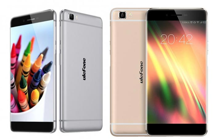 Two different colors for the Ulefone Future