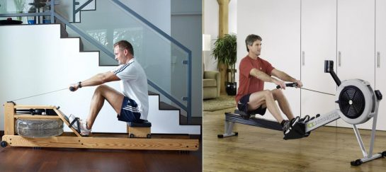 WaterRower VS Concept 2 Model D