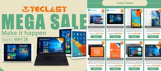 2016 Limited Time Teclast Brand Sale