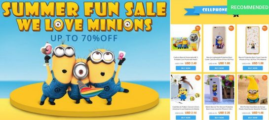 2016 Summer Special Minion Sale