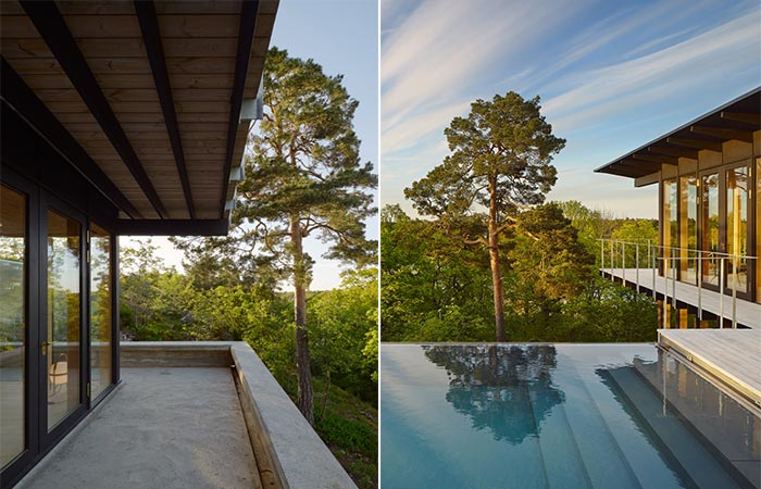 Aspvik House Exterior And Infinity Pool