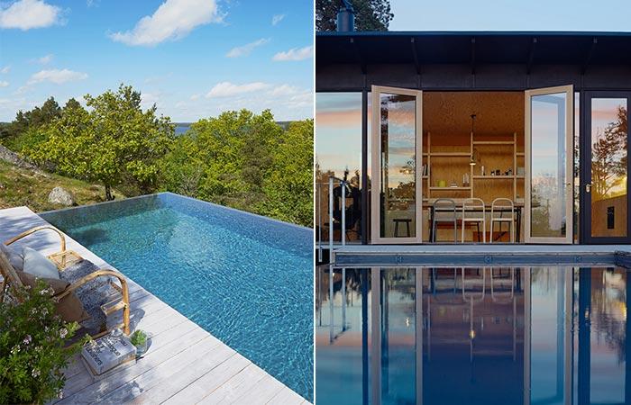 Aspvik House Infinity Pool