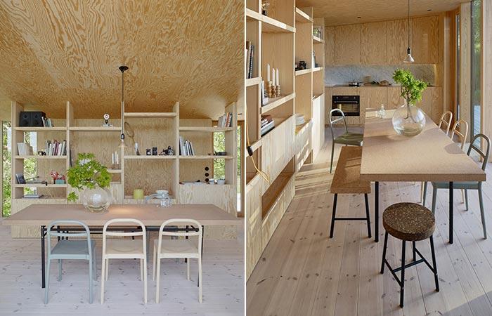Aspvik House Dining Area