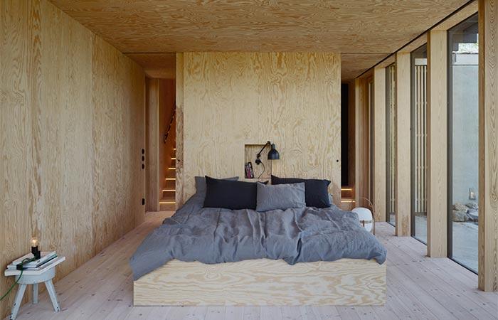 Aspvik House Master Bedroom