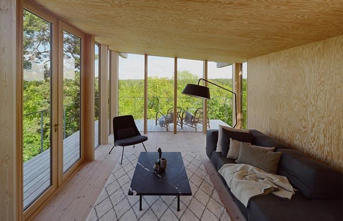 Aspvik House Living Room
