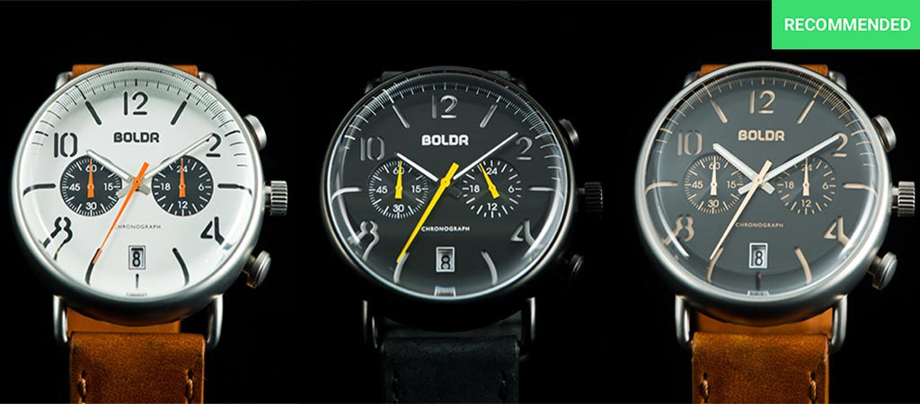 BOLDR Journey Watch Collection