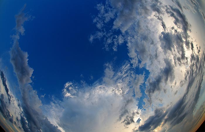 Image Of The Sky Taken With BloomSky