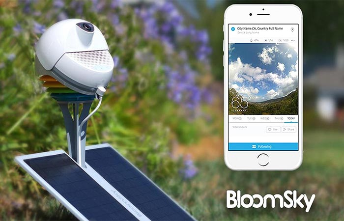 BloomSky With The App