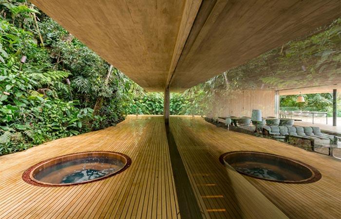 Casa Na Mata Hot Tub