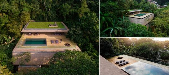 Casa Na Mata | The Rainforest House By Studio MK27