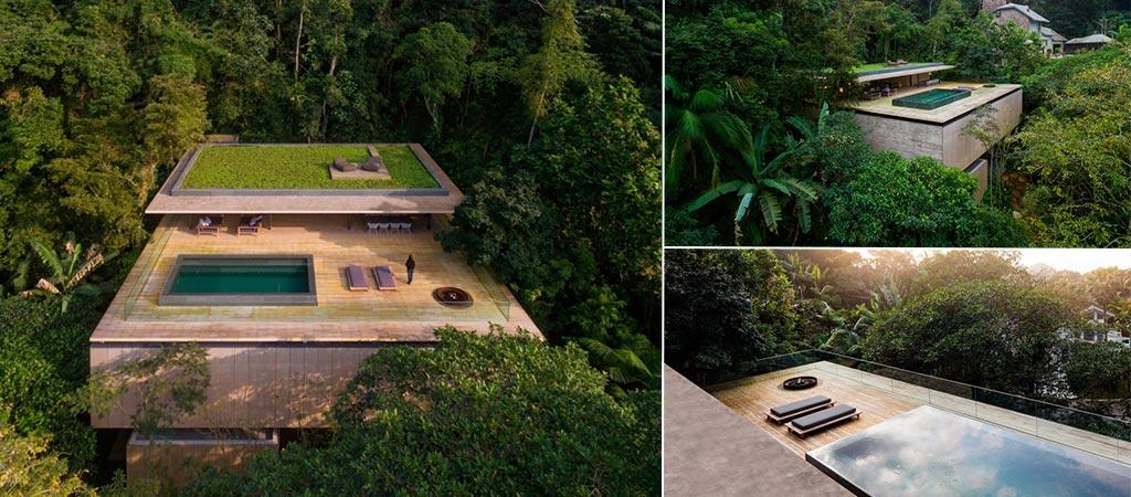 Casa Na Mata | The Rainforest House By Studio MK27