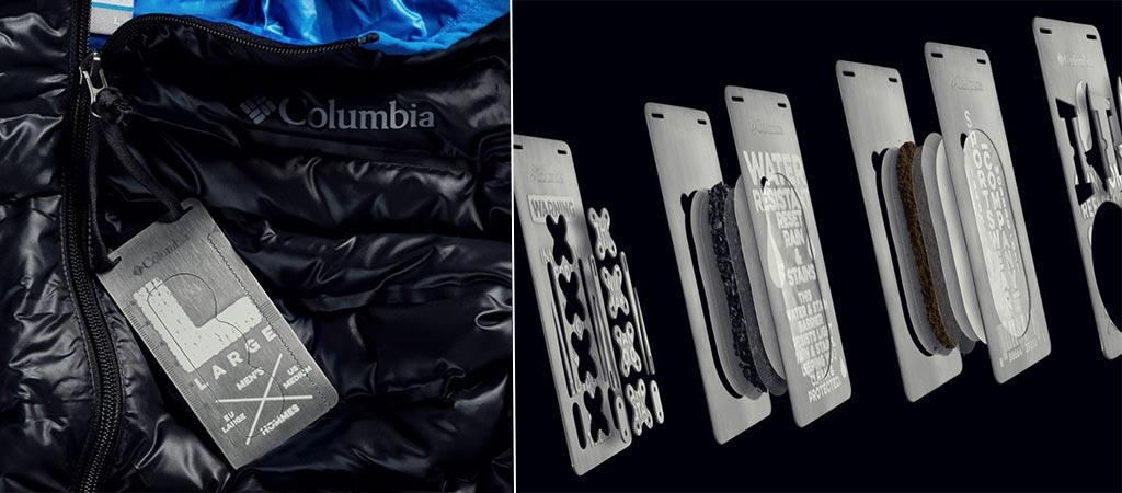 Columbia Turns Clothing Tags Into Survival Tools